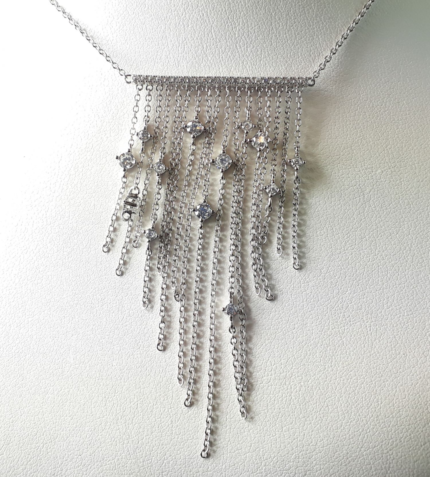 Silver and Cubic Zirconia
