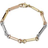 Handmade gold bracelet