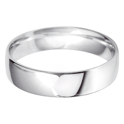 Low Profile Wedding Band