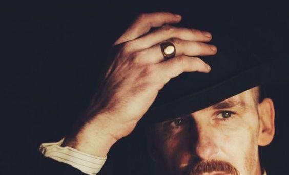Peaky Blinders Signet Ring closeup