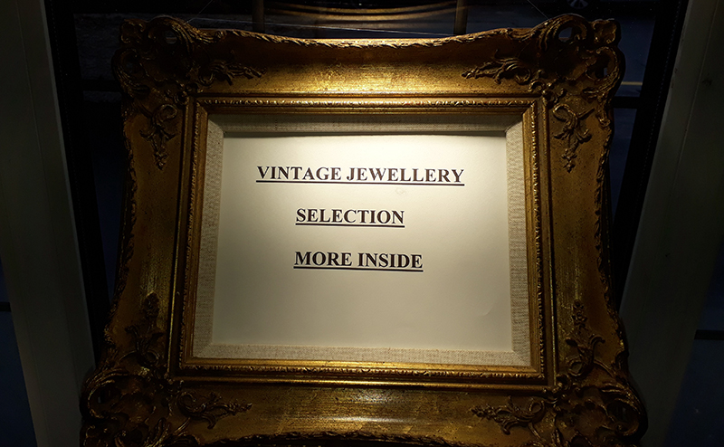 Vintage Jewellery Selection inside